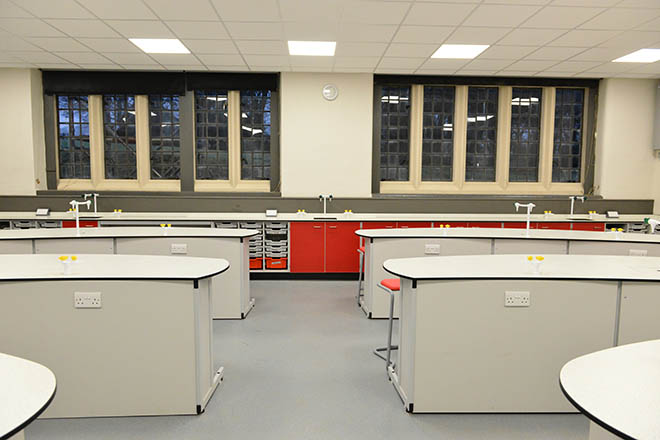 New Chemistry labs at Downside School
