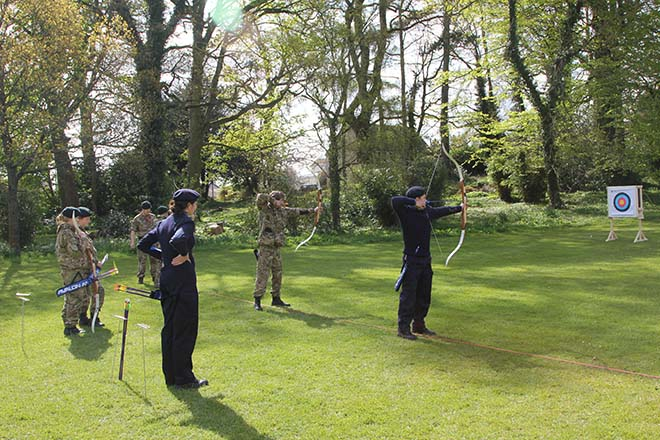 CCF Archery at Downside