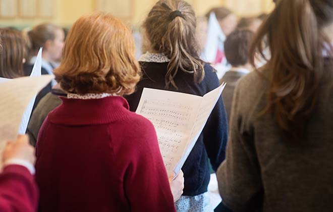 Choral Day at Downside