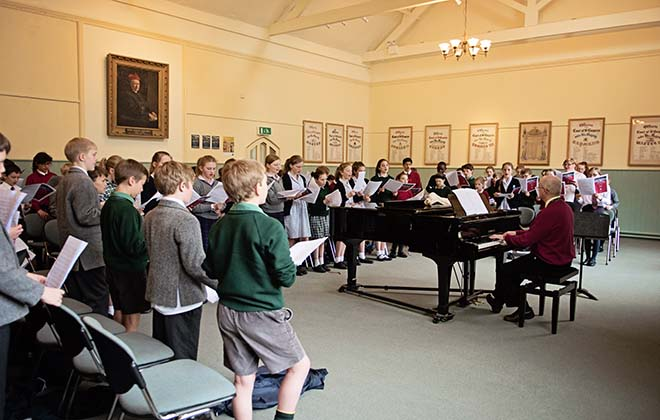 Downside School Choral day