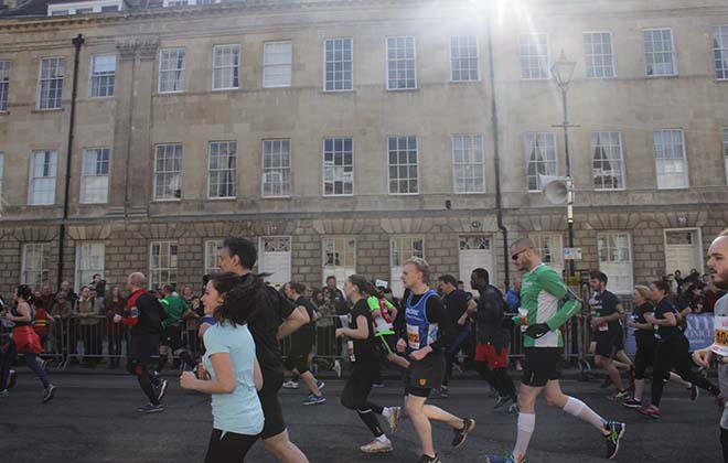 Downside Bath Half Marathon