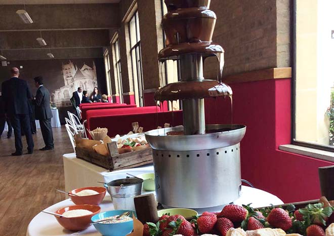 Open Day Chocolate Fountain