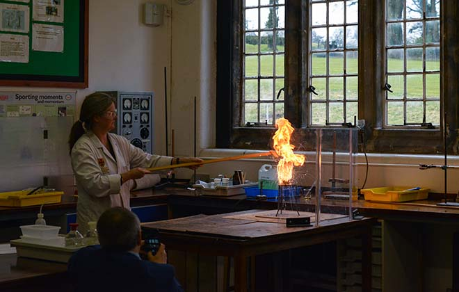 Downside School Science Week