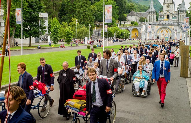 Downside Trip to Lourdes