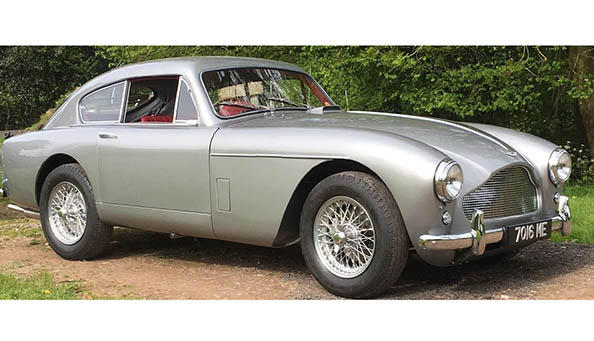 Visitors will enjoy seeing this 1959 Aston Martin DB MkIII