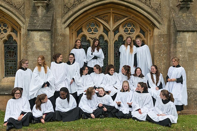 Downside girls choir