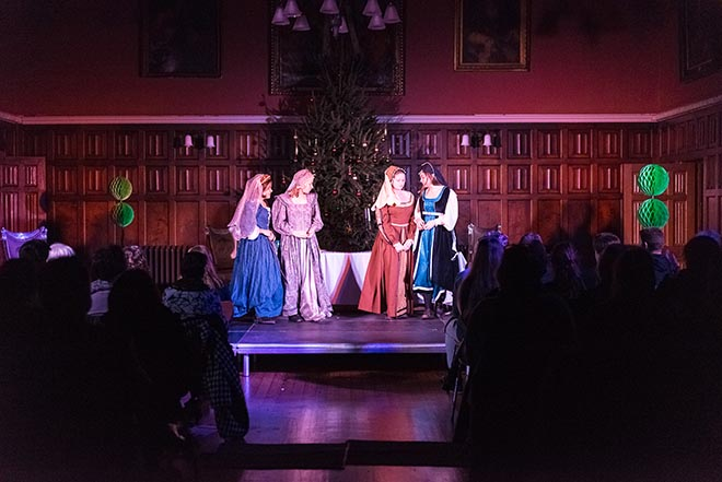 Downside Pupil Shakespeare Play