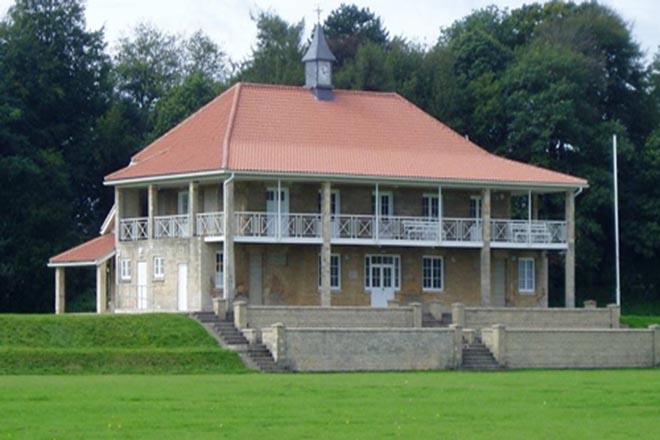 Downside School Cricket Pavilion