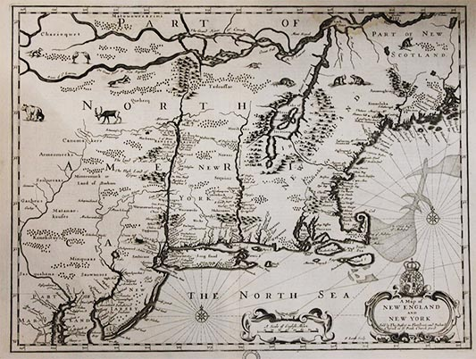 Downside Archive Collections - John Speed Map of North America