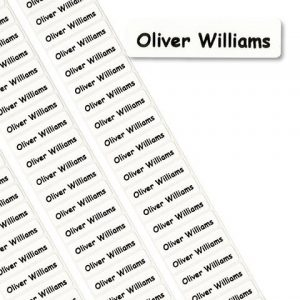 Downside Private School Somerset Printed Name Tapes