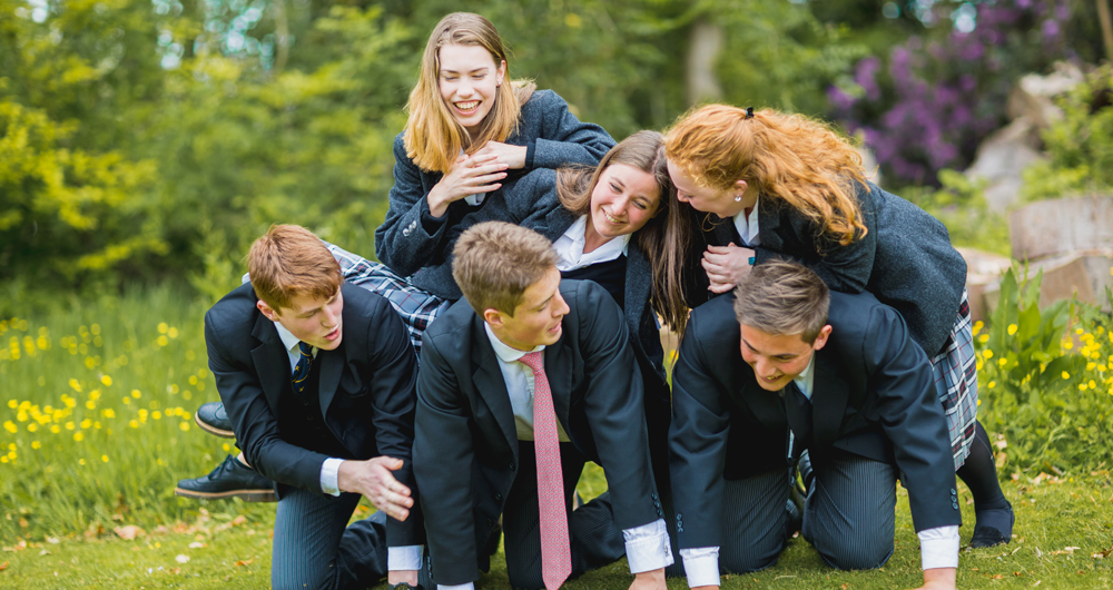 The Admissions Process Human pyramid